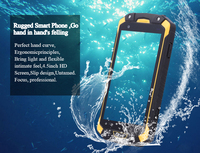 "IP67 Rugged Phone 4.5"" Android 4.4 MTK6582 Quad Core 1GB + 4GB"