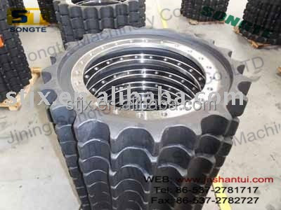 excavator sprocket,pc200,pc220,pc300,pc400