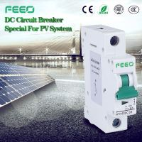 Free Sample IEC60947 FPV-63 12VDC Car Circuit Breaker 12v mcb 12v dc mcb for pv solar system
