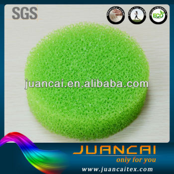 new round shape dish washing pad