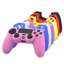 Colorful PS4 controller silicone case, slim silicone protective case for Sony <strong>PlayStation</strong> 4 controller