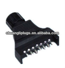 7 Pin Flat Plug 12V, Trailer Electrical Connector