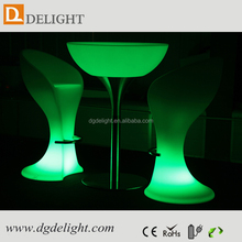 LED PE Plastic Remote Control Glowing Bar Stool Hot Sale in Dragon Mart in Dubai