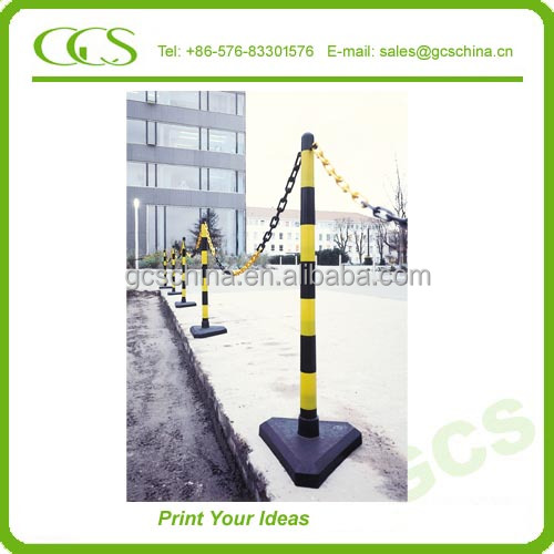 spring back flexible post road safety warning bollard