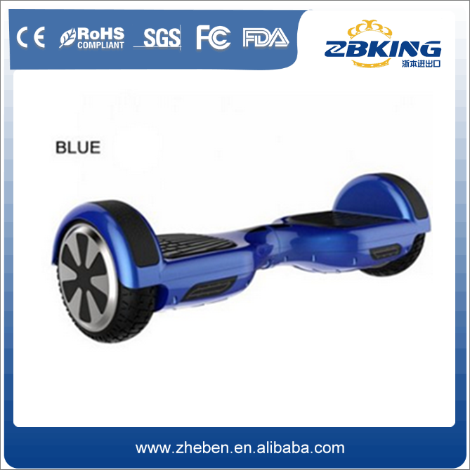Cheap price bluetooth 6.5inch tire 2 wheel smart self balance electric scooter