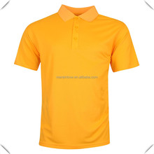 OEM plain design Classic Pique cotton cotton Men's Golf Polo shirts keeping you cool, dry and comfortable for golf course