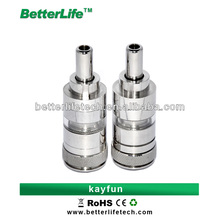 2014 Shenzhen Betterlife hot sale Huge vapor newest designer top coil heating big atomizer capacity e cigarettes kayfun tank