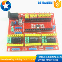 KJ438 cnc shield v4 engraving machine expansion board compatible with Nano 3.0 / A4988 for the 3D Printer