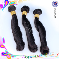 Wholesale virgin remy import indian hair weave many styles available
