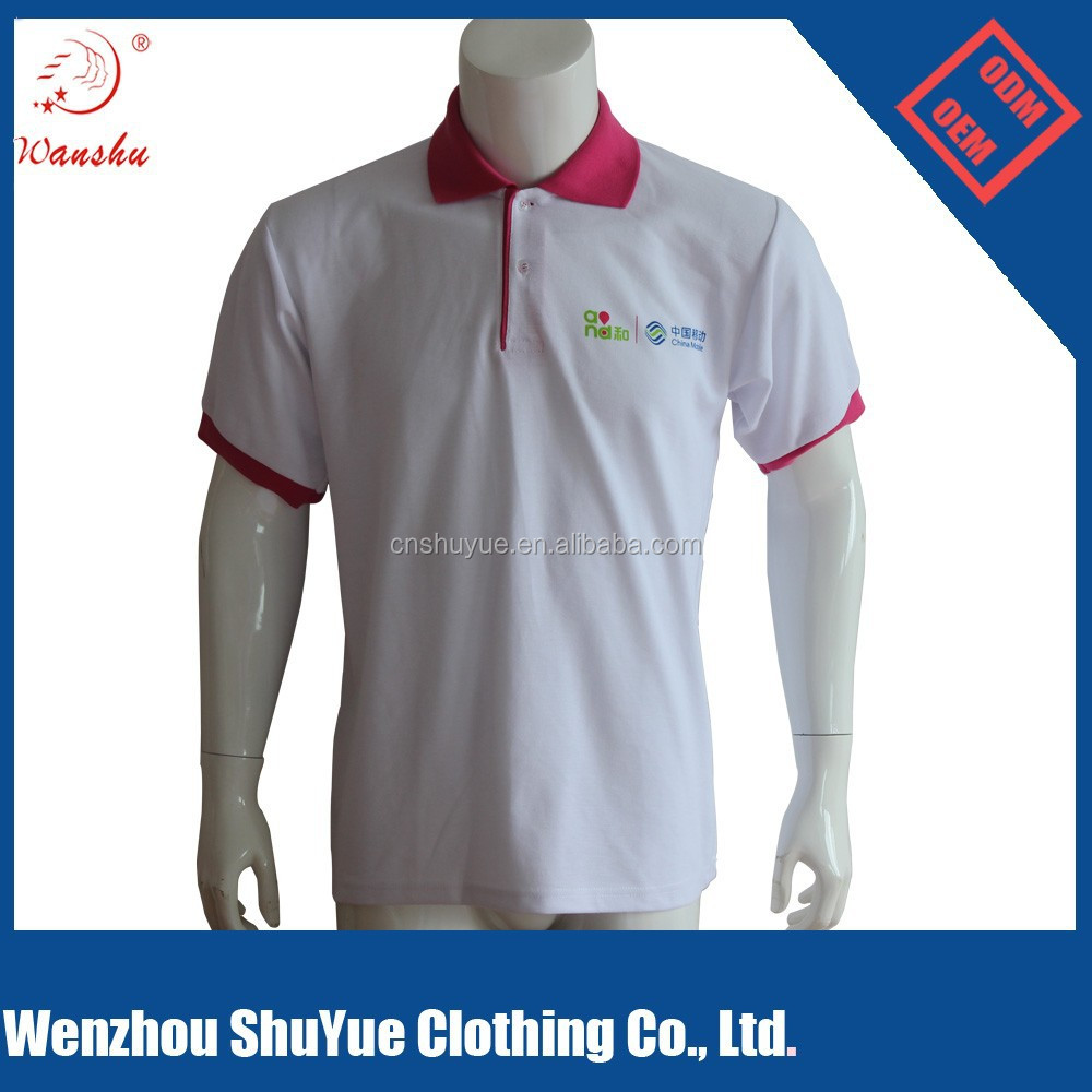Custom design color combination polo t shirt two color t for One color t shirt