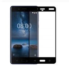 Tempered Glass Screen Protector for Nokia 8 Full Screen Coverage Scratch Resistant Ultra Clear