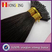 Colored Single Strand Hair Extension High Quality
