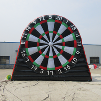 Inflatable soccer dartboard sport games / Inflatable foot darts board/ football dart board