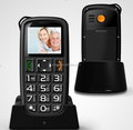 "hot selling 1.8"" lcd screen old people easy use mobile phone"