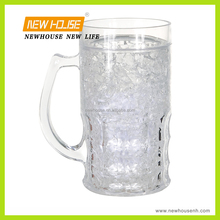 Plastic Double Wall 22oz Beer Cooler Mug