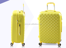 beautiful abs trolly luggage with plane wheels