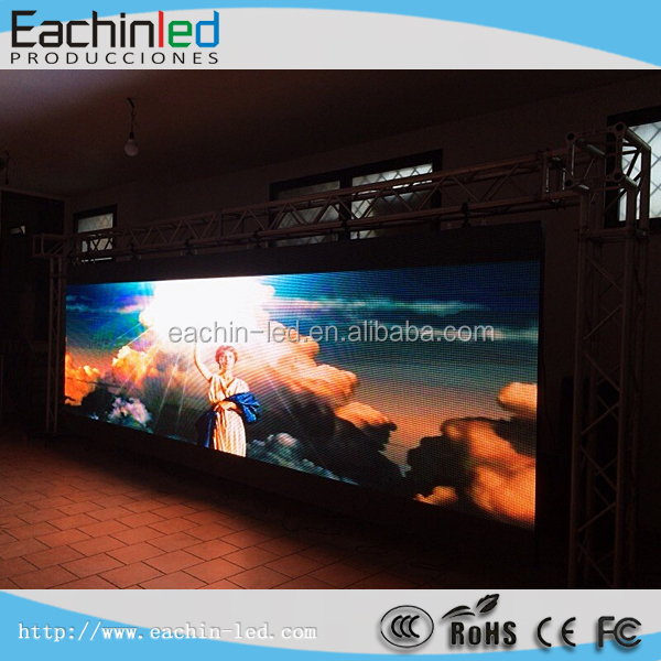 Indoor full color LED videowall P4.81 LED panel