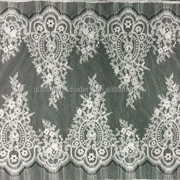 2015 fashion cotton embroidery lace for apparel garments accessories