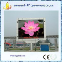 alibaba express in china p6 smd full color double sided outdoor scrolling led sign