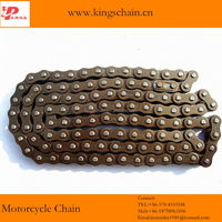 40Mn four riveted roller drive chain 428H for motorcycle chain