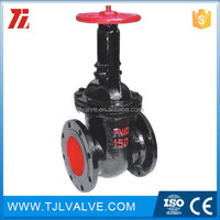 Cast iron metal seat cast gate valve ce cer valve
