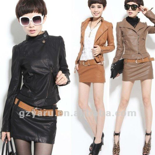 new style women jacket 2012 sleeve suit cotton fashion