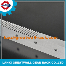 Hot sale China m6 spur steel gear rack aluminium sliding door track with sliding gate