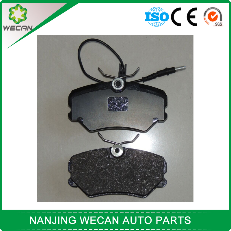 semi-metal material brake pad for peugeot 405 with brake pad sensor
