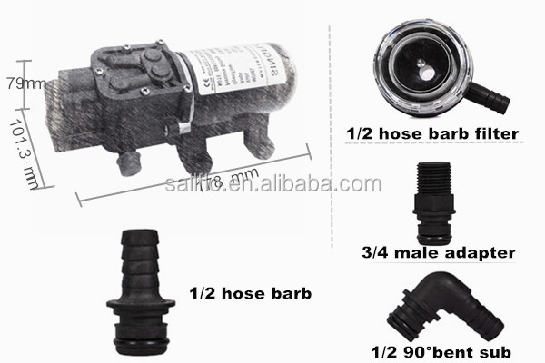 Sailflo high flow rate water pump price list