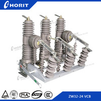 Outdoor Vacuum 3 Phase Circuit Breaker Model Vacuum Recloser 3 Phase Electrical Safety Switch HV Circuit Breaker