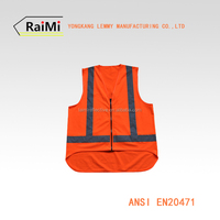 en20471 ladies sexy vest sports equipment reflective vest high visibility security clothes safety reflective vest