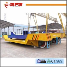 Motorized Rail Flat Cart Long Distance Interbay Transport