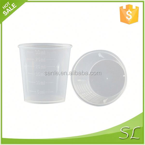 1oz plastic measuring cups