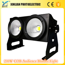 Competitive price stage matrix light 2 Eyes LED 200W COB audience blinder