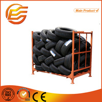 Heavy duty stacking rack for tire for storage solution