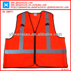 hi vis reflective portable adult safety products,safety vest wholesale