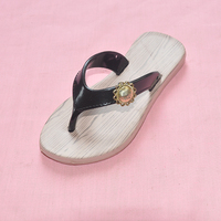 Perfect service funny girls rubber flip flops