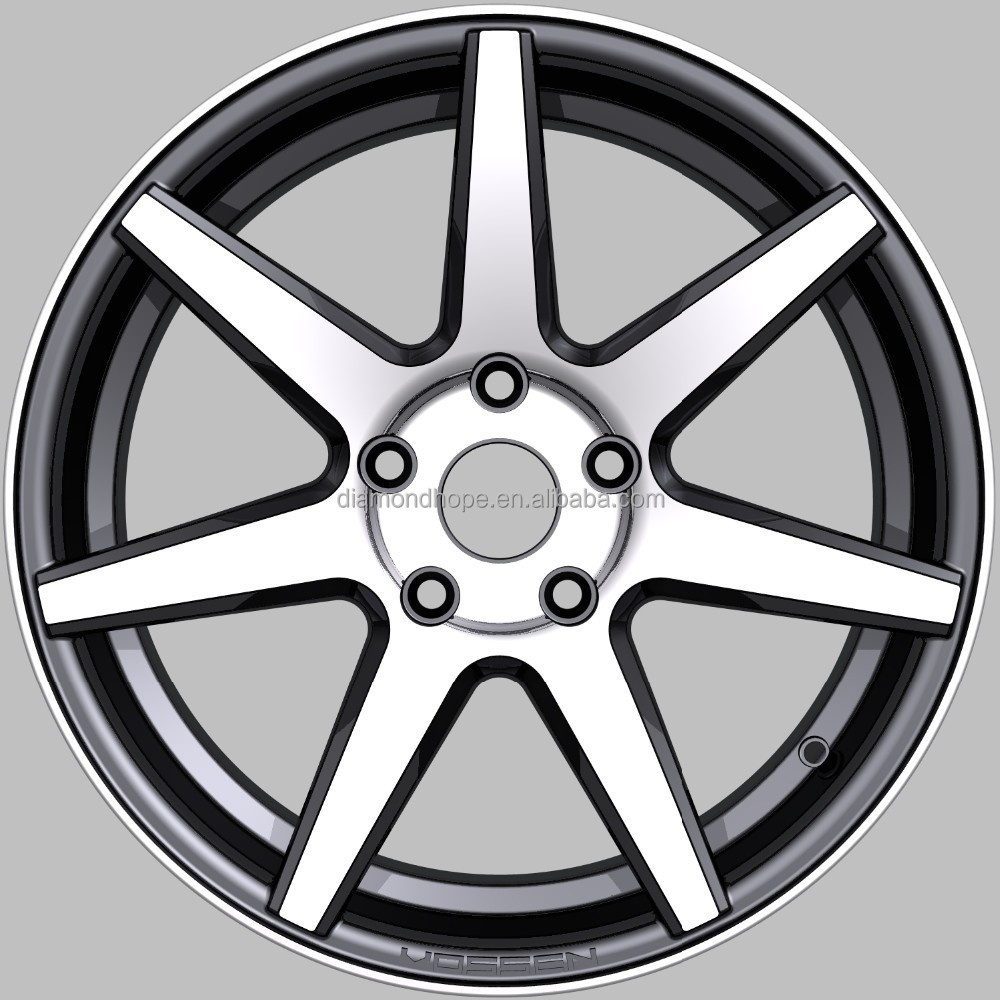 5,6,8 Hole, bright finishing alloy wheels(ZW-XJ037)