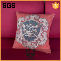 home decoration heat fransfer printing canton fair cushion cover for home decoration