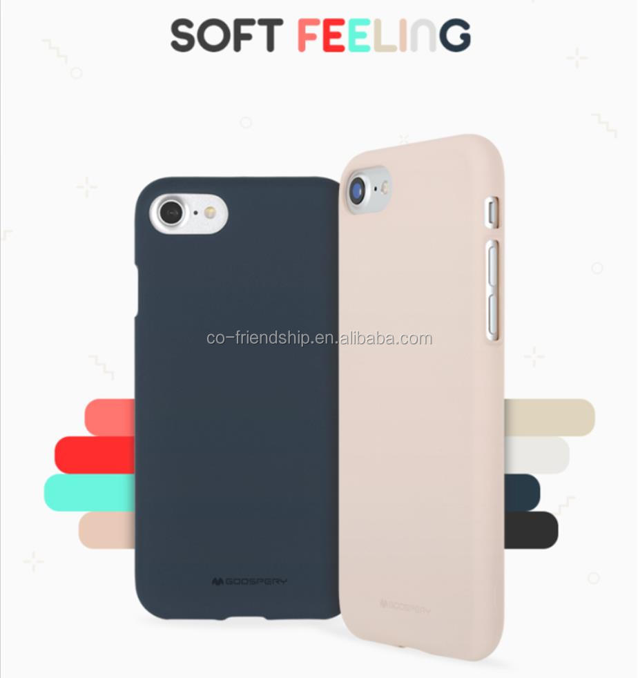 Mercury Goospery matte case Soft Feeling Jelly TPU Case For Iphone 5
