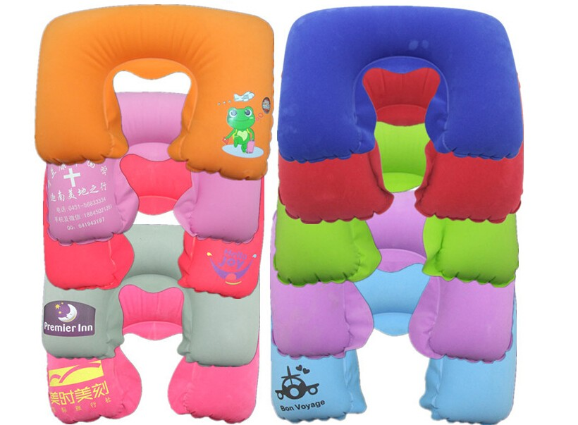 A-OK multi-function inflatable travel pillow neck/back air cushion,car seat neck pillow