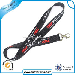 New arrival colorful polyester lanyards custom high quality landyards