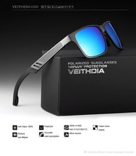 Hot sale veithdia sunglasses ce UV400 sport polarized sunglasses