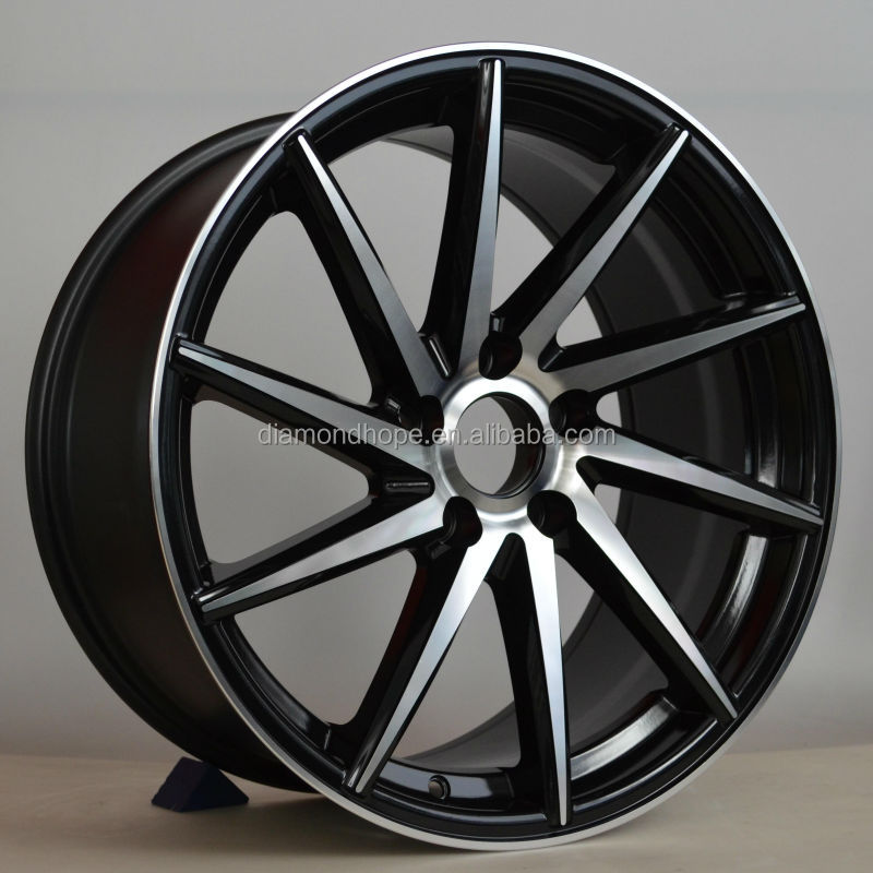 black face american racing alloy wheels with18inch (ZW-S096)