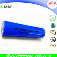dd battery er341245 lithium battery 36Ah 3.6V