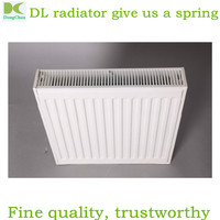 steel panel radiator made in China 22*500*800 / hot water panel radiators / radiation panel heater