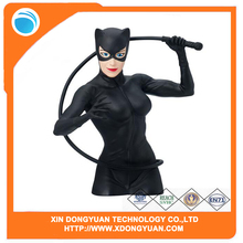 Custom Design Comics Cat Woman Bust Bank Action Figure