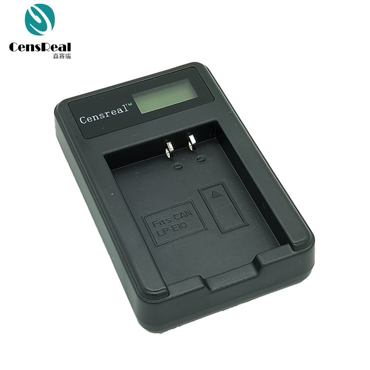 Single LCD Camera Battery Charger for Nikon Canon Fuji Pentax Panasonic Samsung Camera