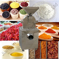 Compact Grinder for spice herb plant