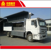 China Sinotruk 6x4 10 wheel wing van truck